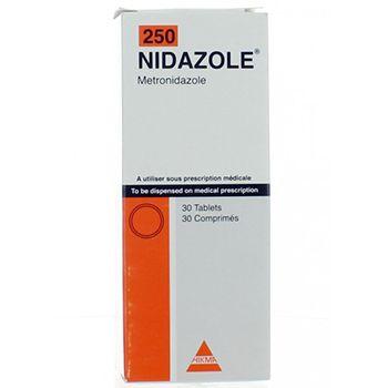 نيدازول Nidazole Medical Prescription Tablet Prescription