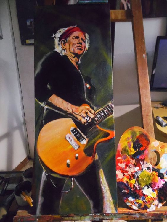 Mauro Vila Real: Keith Richards - The Rolling Stones