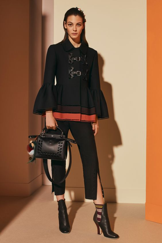 Fendi Pre-Fall 2017 collection by Silvia Venturini Fendi and Karl Lagerfeld: