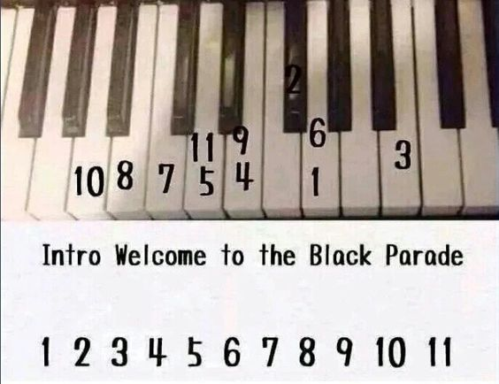 Welcome To The Black Parade 71