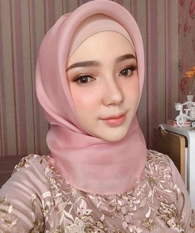 Tutorial Hijab Untuk Pesta Segi Empat Kursus Hijab Pengantin Hijab