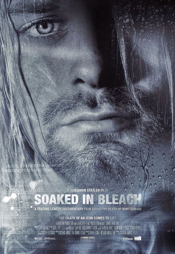 Soaked in bleach.