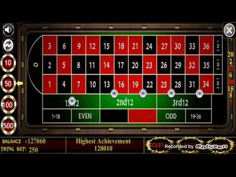 youtube roulette betting chart