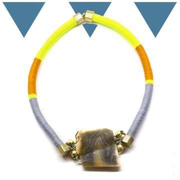 Spacio Terreno: Exotic Hand-Wrapped Jewelry