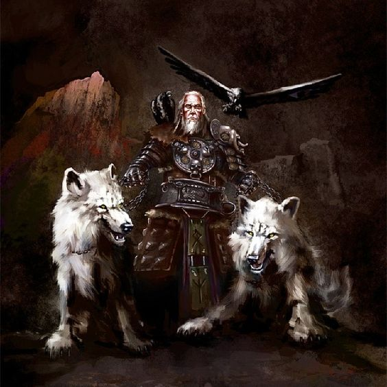 What Are The Names Of Odin S Dogs