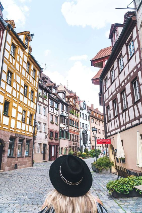 TOP 7 THINGS TO DO IN NUREMBERG | Weissgerbergasse | The Republic of Rose | #Nuremberg #Germany #Travel #Bavaria #Franconia