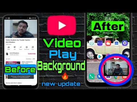 How To Play Youtube In The Background On Android And Ios Play Youtube In The Background How To Play Youtube In The Backgr App Background Youtube Youtube Videos