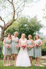 Charming Santa Barbara Estate Wedding full of Color - Style Me Pretty