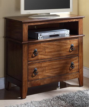 Look at this zulilyfind Brown Tucson Youth TV Stand by Elements
