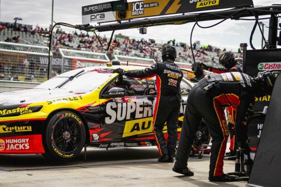 Pra Chaz Mostert Steve Owen 2016 Gold Coast 600 Supercars Supercars Australia Australian V8 Supercars Super Cars Motorsport