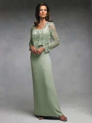 sage green mother of the bride dresses - Google Search - Wedding ...