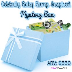 Celebrity Baby Bump Inspired Mystery Box FLASH Giveaway!! $550 RV - USA & Canada. (ends 4/11)