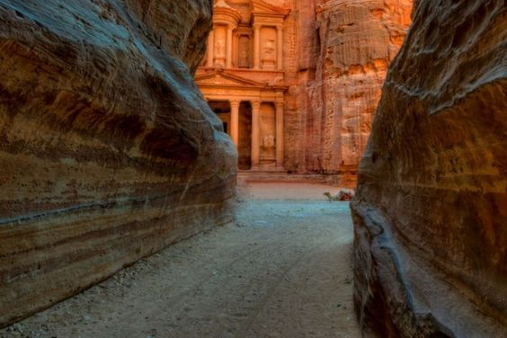 """Excursion to Petra, """"the rose city"""", from $155 http://exploretraveler.com http://exploretraveler.net"""