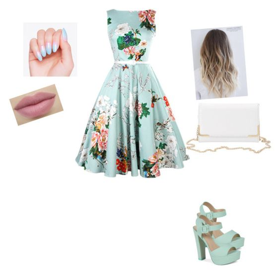 """""""summer dress"""" by nooralaudini ❤ liked on Polyvore featuring Call it SPRING and Charlotte Russe"""
