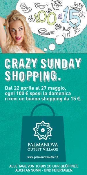 Crazy sunday shopping