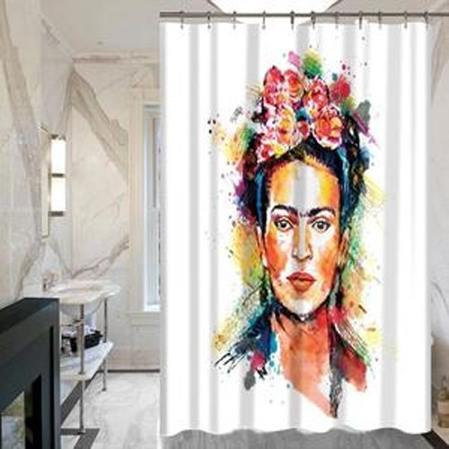 Frida Kahlo Shower Curtain At Personalized Shower Curtain