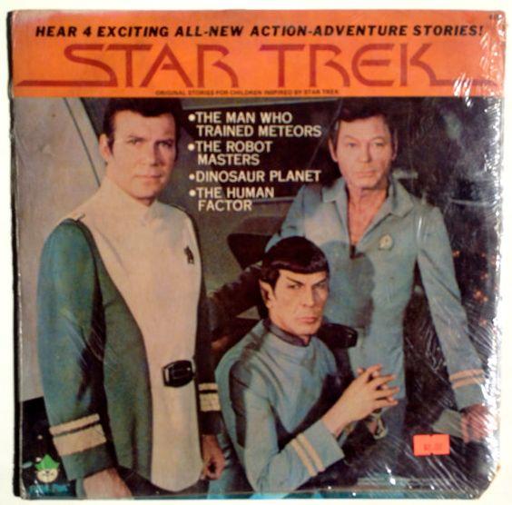 Star Trek Sealed Lp Vinyl Record Album Peter Pan Records