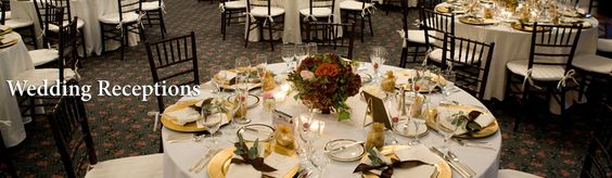 Wedding Reception Moraine Country Club- I took this from their web site. This is a wedding I designed a few years ago in October and remains one of my favorites- Notice the bows with seeded euc on the napkins and the hydrangeas.