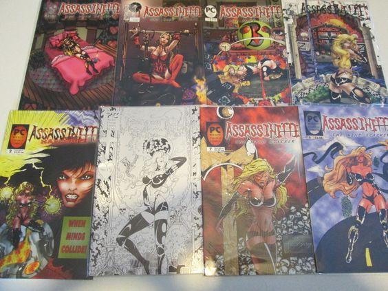 8 Assassinitte comic books for mature readers Adult