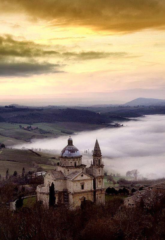 San Biagio at Montepulciano, Siena, Tuscany, Italy