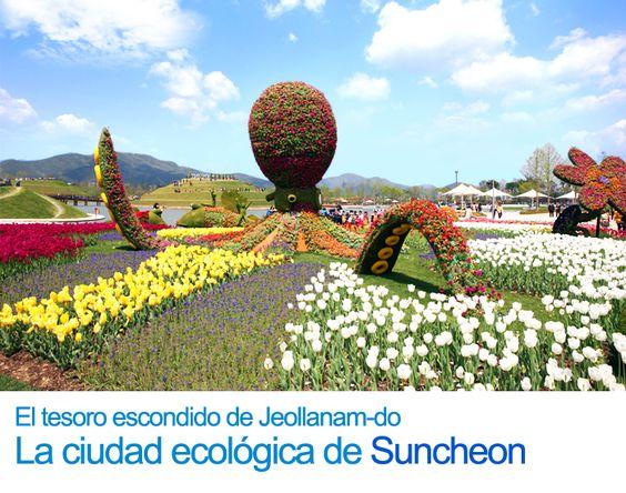 El tesoro escondido de Jeollanam-do La ciudad ecológica de Suncheon
