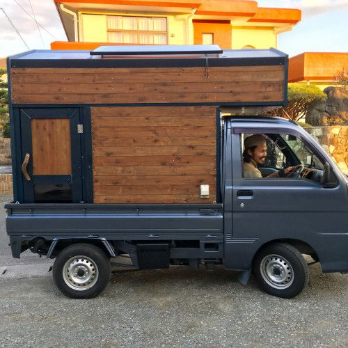 軽トラで移動販売へゴー 宮崎県日南市のミニコンテナハウス