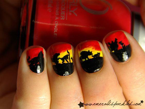 @Sam Schopp  Lion King nails!