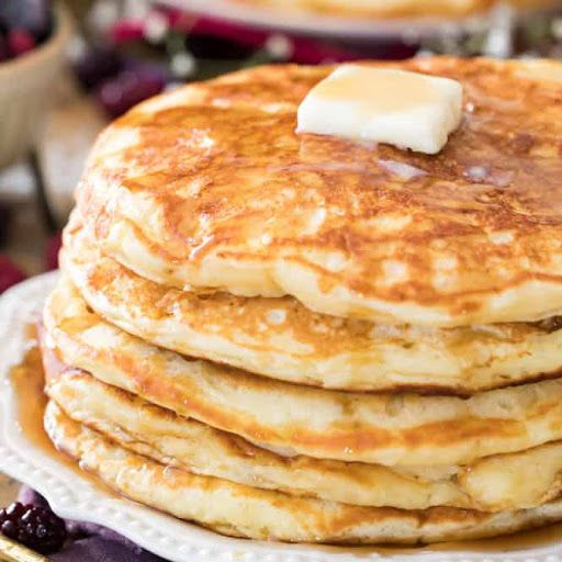 Buttermilk Pancakes Recipe Yummly Recipe In 2020 Buttermilk Pancakes Pancake Recipe Buttermilk Pancake Recipe