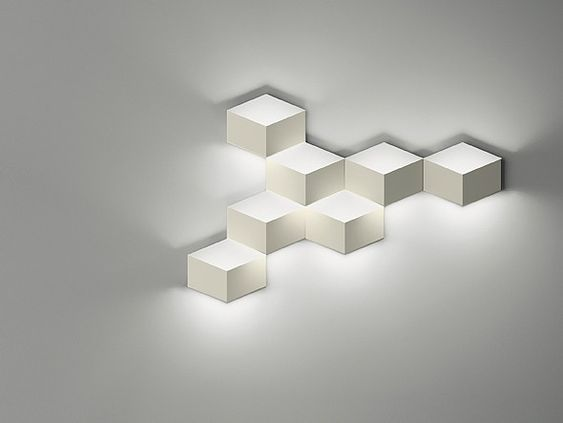 Arandela LED de alumínio FOLD SURFACE 4209 by Vibia design Arik Levy
