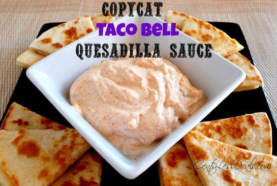 copycat-taco-bell-quesadilla-sauce-recipe.jpg 600×403 pixels