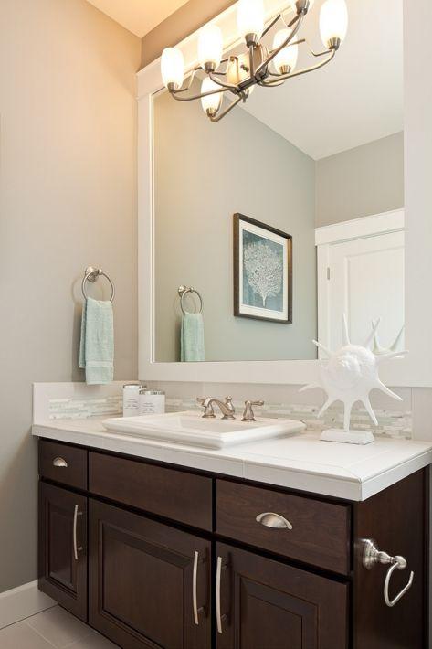bathroom dark cabinets dark bathrooms guest bathrooms countertops