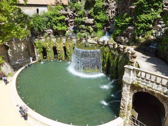Tivoli Gardens, Italy
