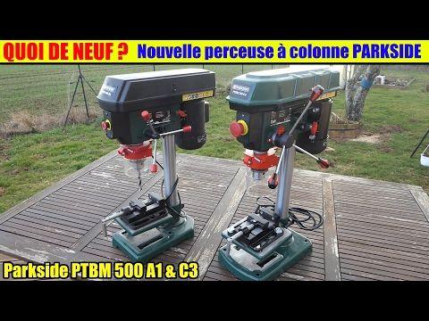 Perceuse à Colonne Parkside Lidl Quoi De Neuf Ptbm 500 A1