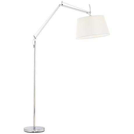 Possini Euro Jules Chrome Arc Floor Lamp Arc Floor Lamp