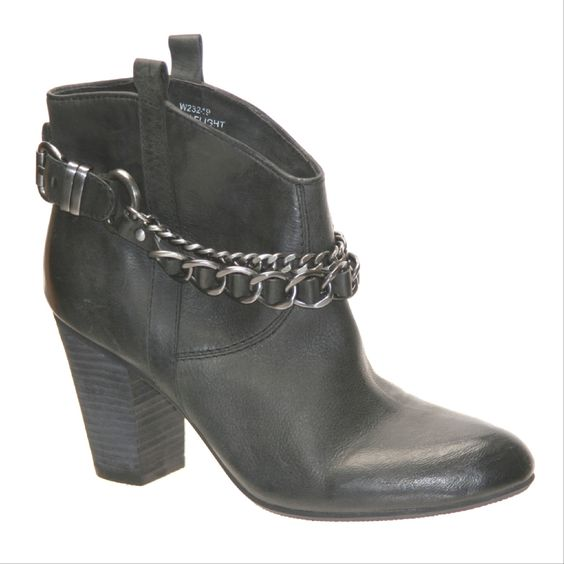 """Biker-chic and uber versatile, The Nicole Candle Light"""" boots will be a long time staple. Would look super cute with a mini skirt."""