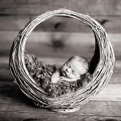 """1 - I need a bunch of cool baskets. 2 - Amanda Andrews has some more natural posing and less """"fluff"""" than some of the other baby photogs I've seen. Good place to get posing ideas."""