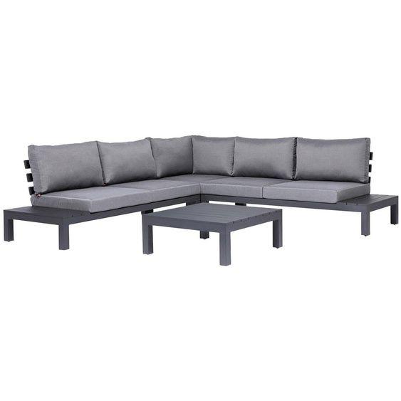 Best Loungeset Luanda 4 Tlg 2 Sitzer Links Rechts Eckteil Tisch