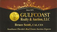 Bid On & Attend Auctions By GULFCOAST REALTY AND AUCTIONS, LLC. of Cape Coral, Florida, (FL) - Auctioneer Home