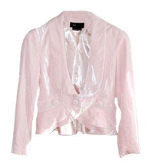 bcbg pink velvet jacket | BCBG Max Azria Pink Crushed Velvet