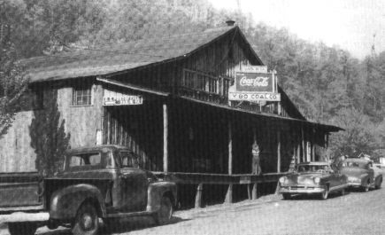 West Virginia Coal Companies | The Y&O Coal Company Store, early 1950s, Van, West Virginia