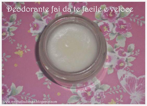 DIY deodorante in crema : http://maghelladicasa.blogspot.it/2015/01/deodorante-fai-da-te-facile-e-che.html
