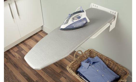 Häfele Bügelbrett Ironfix Premium Bügeltisch für Wandmontage Klapptisch Stahl in Heimwerker, Eisenwaren, Möbelbeschläge & -griffe | eBay