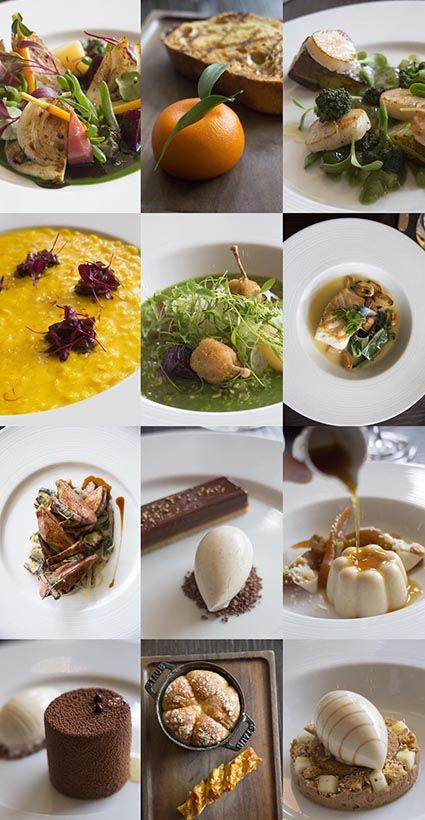 Les plats chez Dinner by Heston Blumenthal au Mandarin Oriental Hyde Park Hotel (Londres) © Maurice Rougeont