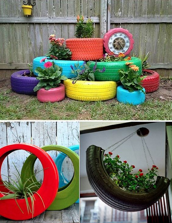 Tans diy and crafts and home on pinterest for Terrazas recicladas