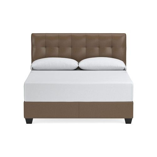 Gable Leather Bed Headboard In 2020 Headboards For Beds