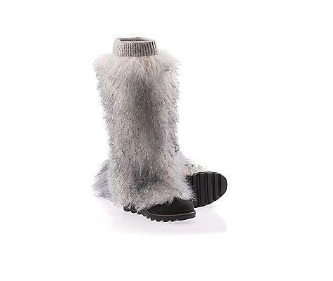 SOREL Women's Wild Wooly Wedge Boot Snow Boot #winterboots
