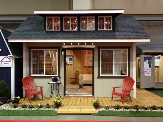 12x16 garden cottage style custom built garden shed