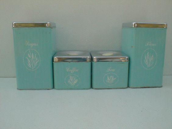 vintage kitchen canisters antique old vintage 4 piece antique copper kitchen canisters