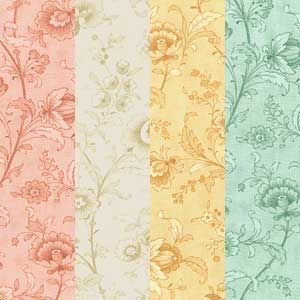 """PRINTEMPS QUILT FABRIC BACKIING 108"""" WIDE"""