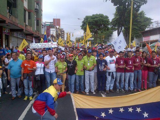 LOS GOCHOS DE #Valera #Trujllo #23E también en las calles exigen la Renuncia de Maduro, Pueblo y Estudiantes UNIDOS